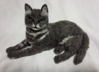 羊毛キャット ネコ