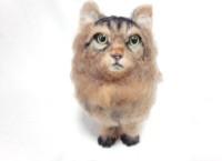 フェルトアート 猫