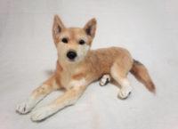 羊毛フェルト ミックス犬