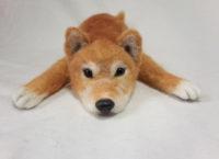 羊毛フェルト 柴犬