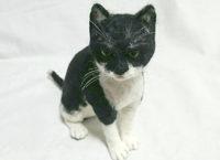 羊毛フェルト 猫