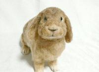羊毛フェルト ウサギ